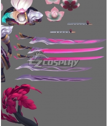 League of Legends LOL Spirit Blossom Yasuo Cosplay Weapon Prop