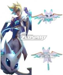 League of Legends LOL Star Guardian Ezreal EZ Pet Yuuto Doll Cosplay Accessory Prop