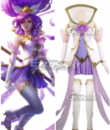 League of Legends LOL Star Guardian Janna Cosplay Costume