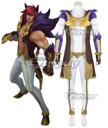 League of Legends LOL The Boss Sett Cosplay Costume