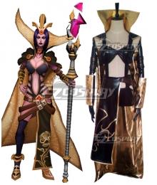 League Of Legends LOL Mistletoe LeBlanc Cosplay Costume