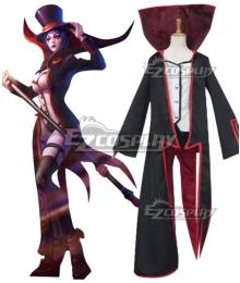 League Of Legends LOL Prestigious LeBlanc Cosplay Costume