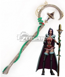 League Of Legends LOL the Deceiver LeBlanc Wand Cosplay Weapon Prop