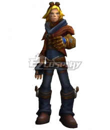 League Of Legends LOL The Prodigal Explorer Ezreal EZ Cosplay Costume