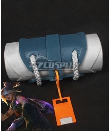 League of Legends LOL True Damage Akali Bag Cosplay Accessory Prop