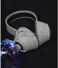 League of Legends LOL True Damage Ekko Headset Cosplay Accessory Prop