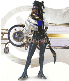 League Of Legends LOL True Damage Prestige Senna Cosplay Costume