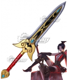 League Of Legends LOL Valiant Sword Riven Cosplay Weapon Prop