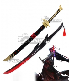 League Of Legends LOL Yone Two Sword Cosplay Weapon Prop