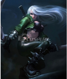 League Of Legends Mercenary Katarina the Sinister Blade Cosplay Costume