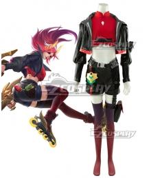 League of Legends Wild Rift LOL Lunar Beast Miss Fortune Cosplay Costume