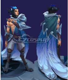 League of Legends Rakan SSG Skin Male Cosplay Costume