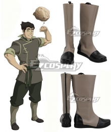 Legend of Korra Bolin Black Cosplay Shoes