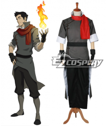Legend of Korra Mako Cosplay Costume