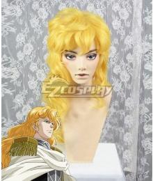 Legend of the Galactic Heroes Reinhard Von Lohengramm New Galactic Empire Golden Cosplay Wig
