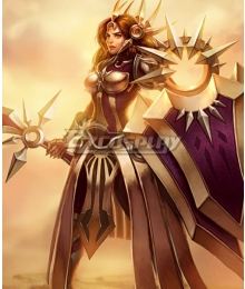 League of Legends Leona The Radiant Dawn Cosplay Costume
