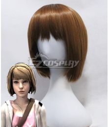 Life is Strange Max Caulfield Yellow Brown Cosplay Wig