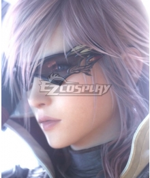 Lightning Returns: Final Fantasy XIII FF13 Lightning Black Sunglasses Cosplay Accessory Prop