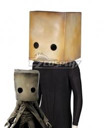 Little Nightmares 2 Mono The Key Helloween Head wear Cosplay Accessory Prop