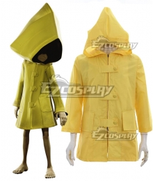 Little Nightmares Six Coat Helloween Cloak Cosplay Costume