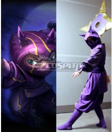 League of Legends LOL Kennen The Heart Of The Tempest Cosplay Costume