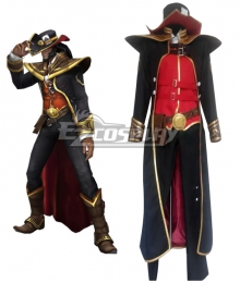 League of Legends Twisted Fate Cosplay Costume