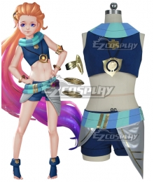 League of Legends LOL Zoe Render Cosplay Costume