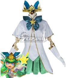 League of Legends LOL Star Guardian Lulu Cosplay Costume