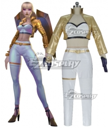 League Of Legends LOL KDA K/DA Kai'Sa Prestige Cosplay Costume