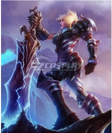 League of Legends Championship Riven Cosplay Costume