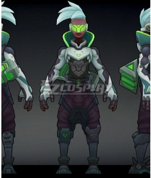 League of Legends LOL Project Ekko Cosplay Costume