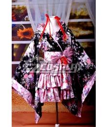 Lolita  Kimono Dress Cosplay Anime  Costume-Y530