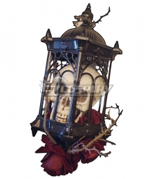 Lolita Series Halloween Magic Wand Siren Elegy Gothic Staff Cosplay Weapon Prop