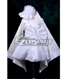Lolita White Improvement and Dress Suit Cosplay Anime Costume-Y533