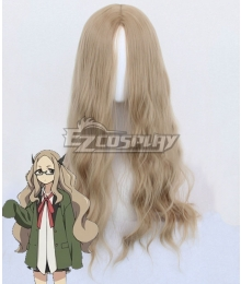 Lostorage Incited WIXOSS Hanna Mikage Brown Cosplay Wig