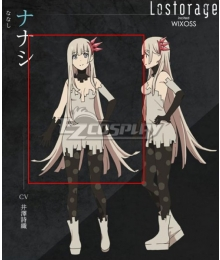 Lostorage Incited WIXOSS Nanashi Grey Cosplay Wig