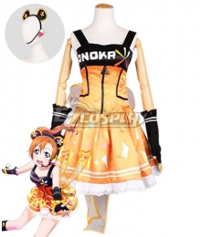 Love Live! Lovelive! Honoka Kosaka Cyber Idolized Gaming Game Awaken Cosplay Costume
