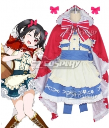 Love Live! Lovelive! Fairy Tale Little Red Riding Hood Nico Yazawa Cosplay Costume
