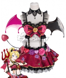 Love Live! Lovelive! Halloween Eli Ayase Little Devil Ver. Cosplay Costume