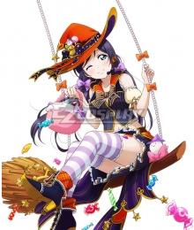 Love Live! Lovelive! Halloween Nozomi Tojo Pumpkin Ver. Cosplay Costume
