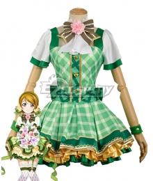 Love Live! Lovelive! Hanayo Koizumi School Idol Festival Flower Bouquet Dress Cosplay Costume