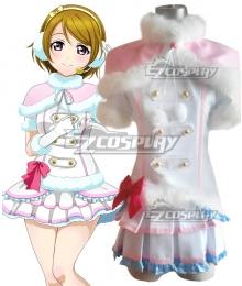Love Live! lovelive! Hanayo Koizumi Snow halation Cosplay Costume
