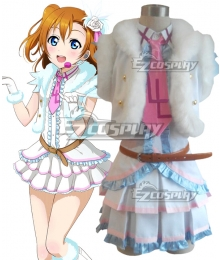 Love Live! lovelive! Honoka Kousaka Snow halation Cosplay Costume