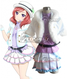 Love Live! lovelive! Maki Nishikino Snow halation Cosplay Costume