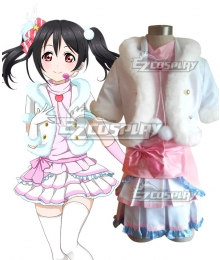 Love Live! lovelive! Nico Yazawa Snow halation Cosplay Costume