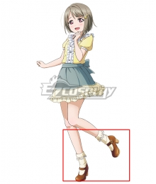 Love Live! Lovelive! PERFECT Dream Project Ayumu Uehara White Cosplay Shoes