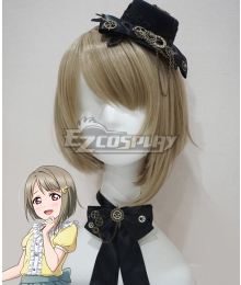 Love Live! Lovelive! PERFECT Dream Project Kasumi Nakasu Grey Cosplay Wig