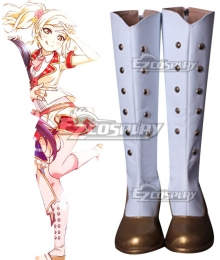 Love Live! Lovelive! School Idol Festival ALL STARS Honoka Kosaka Chika Takami Umi Sonoda Kotori Minami Riko Sakurauchi You Watanabe White Shoes Cosplay Boot