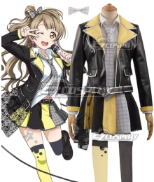 Love Live! Lovelive! Transformed Rock Ver. Kotori Minami Cosplay Costume