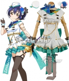 Love Live! Lovelive! Transformed Sky Umi Sonoda Cosplay Costume